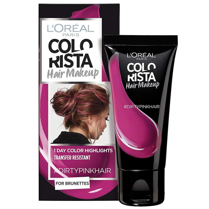 L'ORÉAL - Coloration Éphémère COLORISTA HAIR MAKE-UP - Dirty Pink