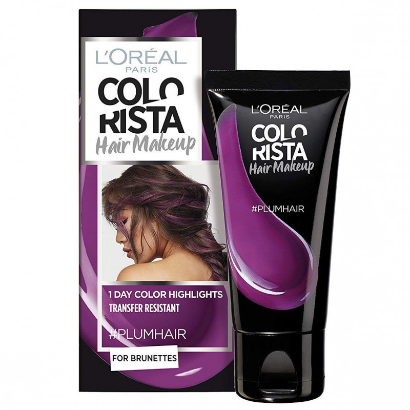 L'ORÉAL - Coloration Éphémère COLORISTA HAIR MAKE-UP - Plum