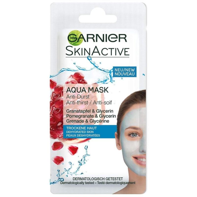 GARNIER - Sachet Masque Anti Soif Peaux Déshydratées - Aqua Mask