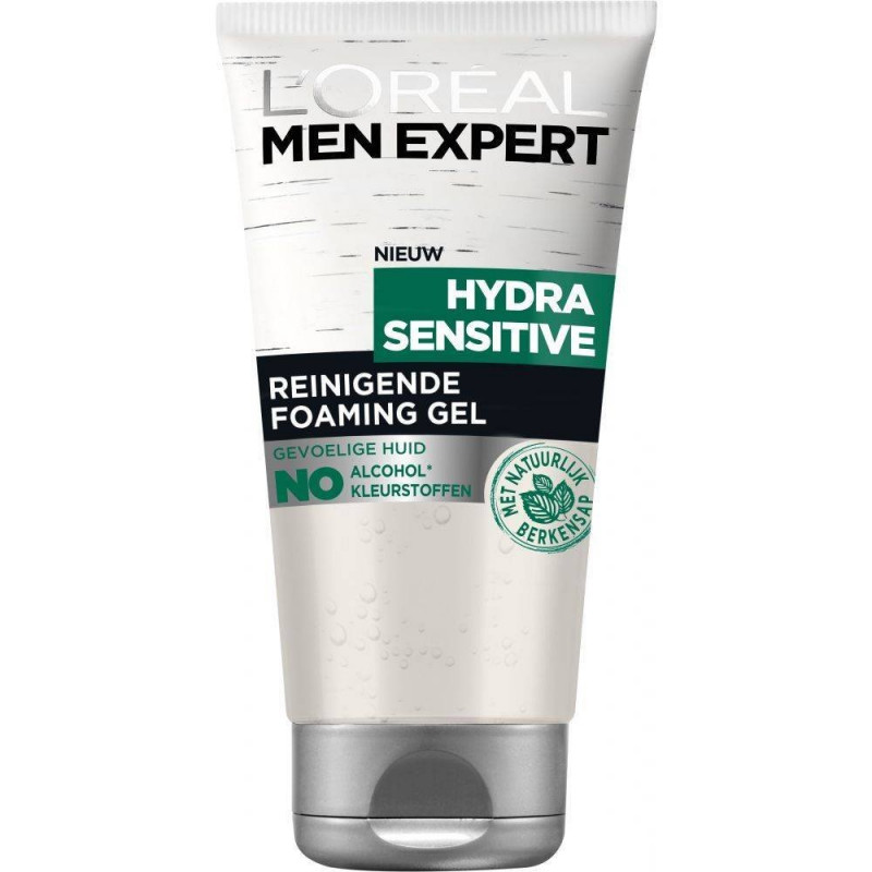 L'Oréal Paris - Gel Nettoyant MEN EXPERT - Hydra Sensitive