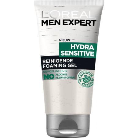 L'Oréal Paris - Gel Nettoyant MEN EXPERT - Hydra Sensitive