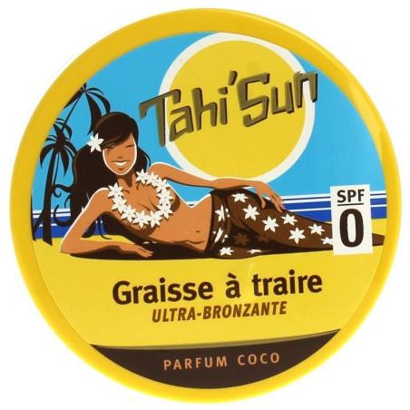 SOLEIL DES ÎLES - Graisse à Traire Ultra Bronzante - Parfum COCO SPF 0