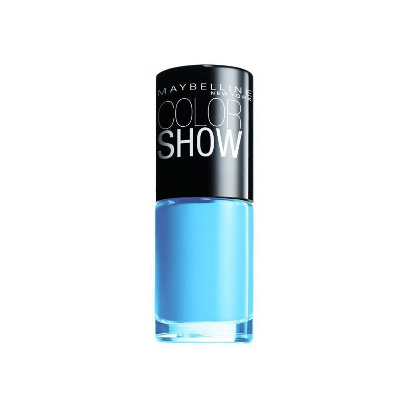 GEMEY MAYBELLINE - Vernis COLORSHOW - 286 Maybe Blue