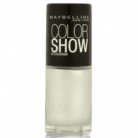 GEMEY MAYBELLINE - Vernis COLORSHOW - 19 Marshmallow