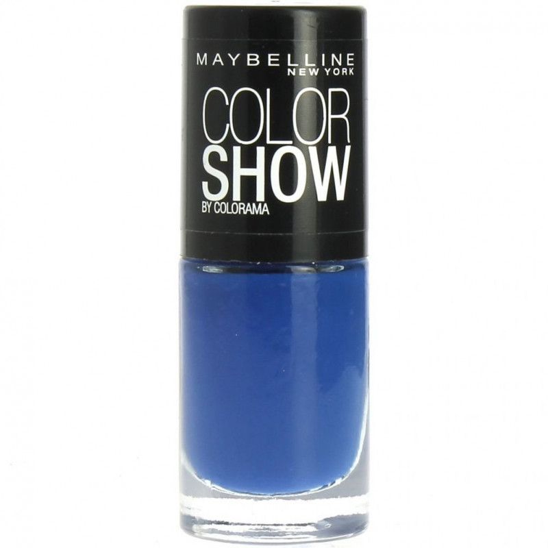 GEMEY MAYBELLINE - Vernis COLORSHOW - 281 Into The Blue