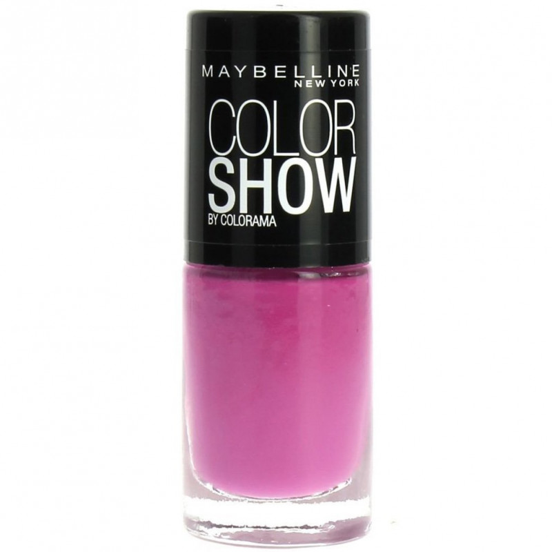 GEMEY MAYBELLINE - Vernis COLORSHOW - 317 So Chic Pink