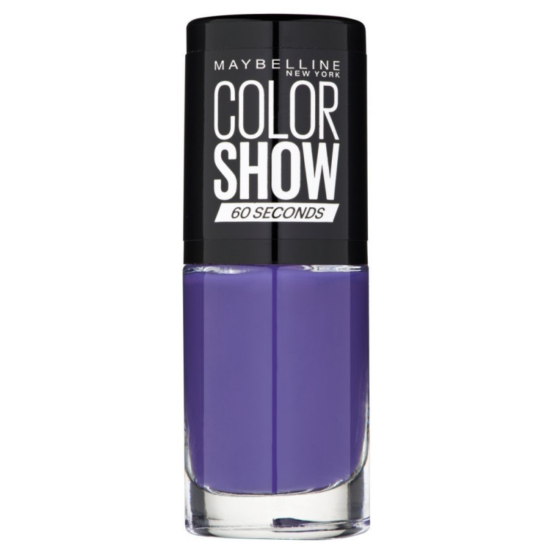 GEMEY MAYBELLINE - Vernis COLORSHOW - 336 Violet Vogue