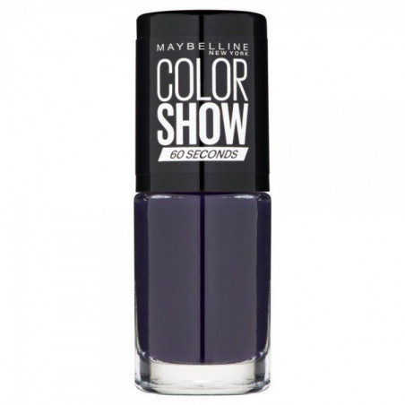 GEMEY MAYBELLINE - Vernis COLORSHOW - 330 Manhattan Midnight