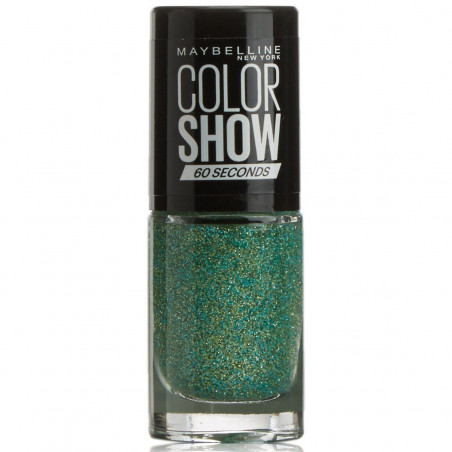 GEMEY MAYBELLINE - Vernis COLORSHOW - 334 Teal Reveal