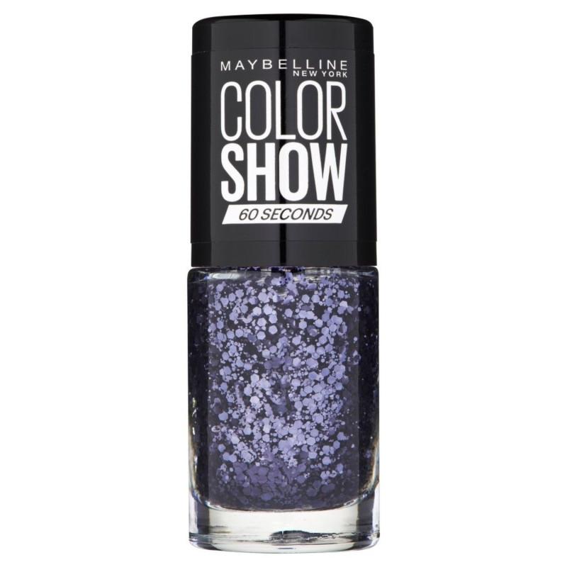 GEMEY MAYBELLINE - Vernis COLORSHOW - 337 Black Magic