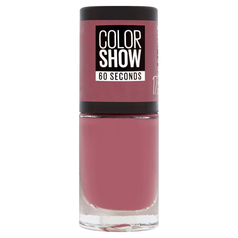 GEMEY MAYBELLINE - Vernis COLORSHOW - 17 Smoky Rose