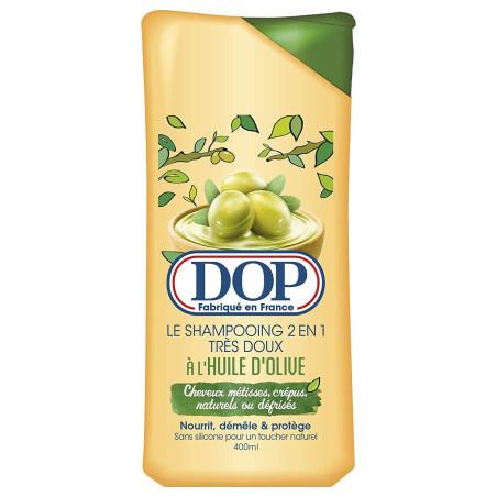 DOP - Shampoing 2 en 1 très Doux à l'Huile d'Olive 400ml