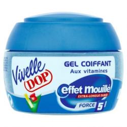 VIVELLE DOP - Gel Coiffant - EFFET MOUILLÉ Force 5