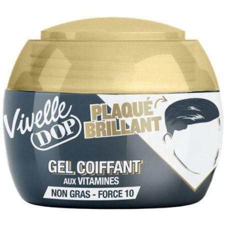 VIVELLE DOP - Gel Coiffant - PLAQUÉ BRILLANT Force 10