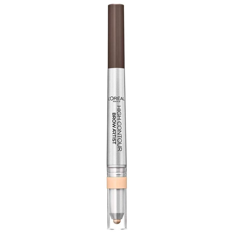 L'ORÉAL - Crayon à Sourcils BROW ARTIST HIGH CONTOUR - 108 Warm Brunette