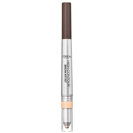 L'Oréal Paris - Crayon à Sourcils BROW ARTIST HIGH CONTOUR - 108 Warm Brunette