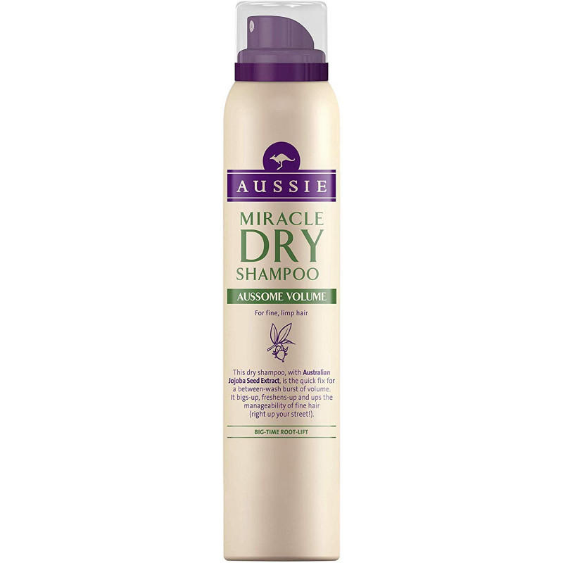 AUSSIE -Shampoing Sec MIRACLE DRY AUSSOME VOLUME - 65 ml