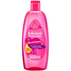 JOHNSON'S BABY - Shampoing pour enfants SHINY DROPS - 500 ml