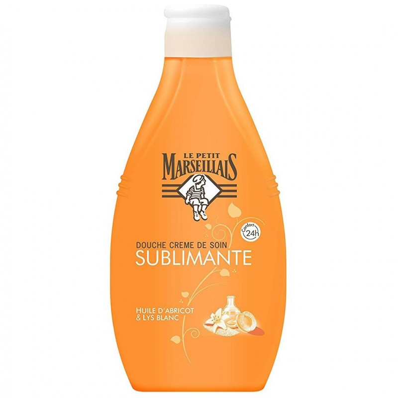 LE PETIT MARSEILLAIS - Douche Crème de Soin SUBLIMANTE - Huile d'Abricot & Lys Blanc