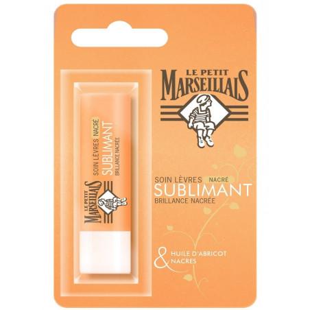 LE PETIT MARSEILLAIS - Soin Stick Lèvres Nacré SUBLIMANT - Abricot