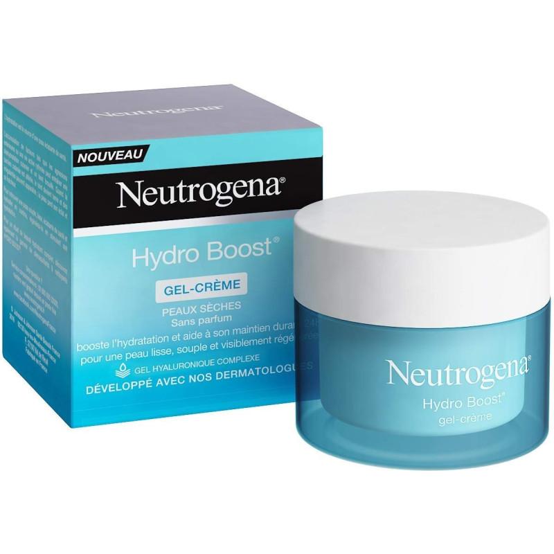 NEUTROGENA - Gel-Crème Hydratant HYDRO BOOST - Pour peaux sèches