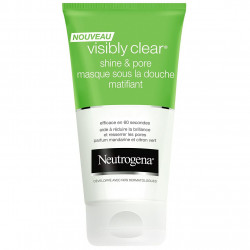 NEUTROGENA - Masque Sous la Douche Matifiant VISIBLY CLEAR SHINE & PORE - 150 ml