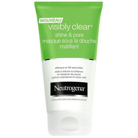 NEUTROGENA - Masque Sous la Douche Matifiant VISIBLY CLEAR SHINE & PORE - 150 ml