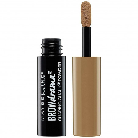 Maybelline New York - Poudre à Sourcils BROW DRAMA SHAPING CHALK - 110 Châtain