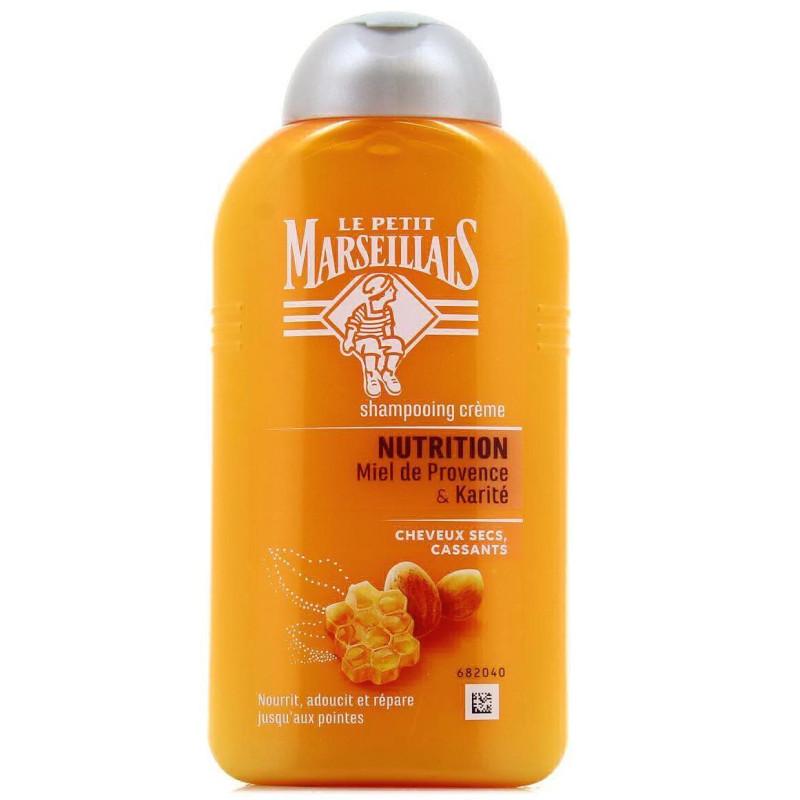 LE PETIT MARSEILLAIS - Shampoing Crème NUTRITION - Miel de Provence & Karité