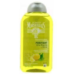 LE PETIT MARSEILLAIS - Shampoing Doux PURIFIANT - Ortie Blanche & Citron