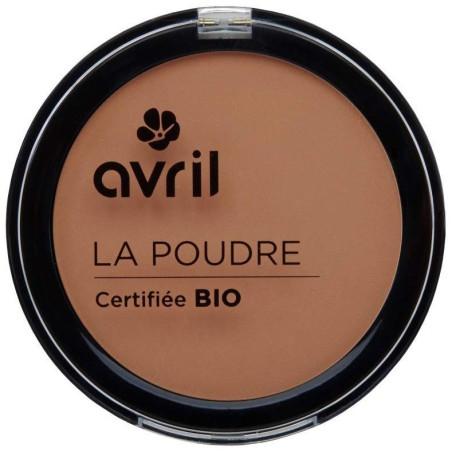 Avril - Poudre Compacte Certifiée Bio - Cuivré