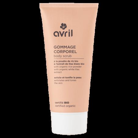 AVRIL - Gommage Corporel 200 ml - Certifié Bio