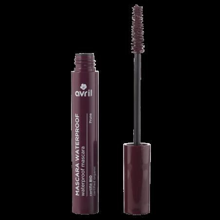 AVRIL - Mascara Waterproof Certifié Bio - Prune