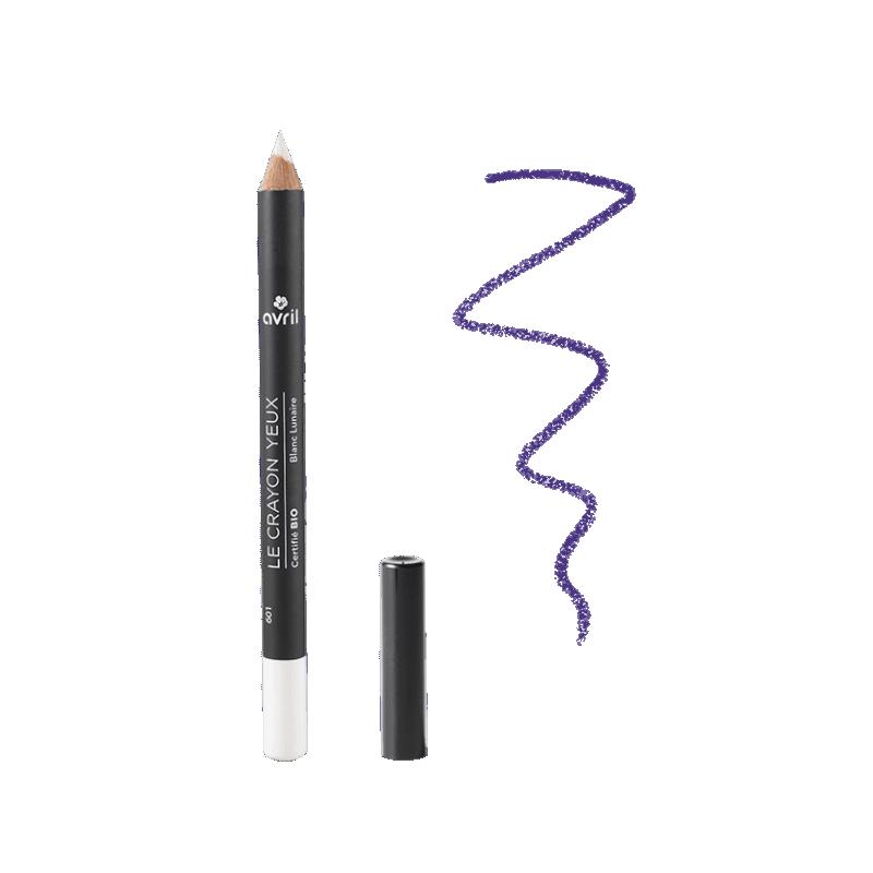 AVRIL - Crayon Yeux Certifié Bio - Blanc Lunaire