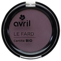 Avril - Fard à Paupières Certifié Bio - Prune Irisé