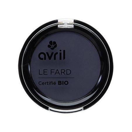 Avril - Fard à Paupières Certifié Bio - Bleu de Minuit Irisé