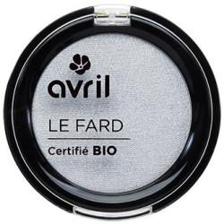 Avril - Fard à Paupières Certifié Bio - Gris Perle Irisé