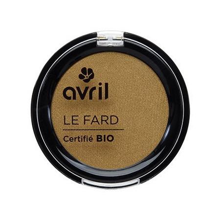 Avril - Fard à Paupières Certifié Bio - Or Vénitien