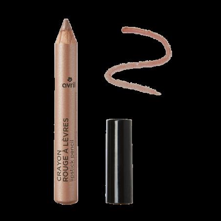 Avril - Crayon Rouge à Lèvres Certifié Bio - Sable Rosé