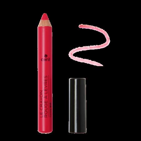 AVRIL - Crayon Rouge à Lèvres Certifié Bio - Rose Indien