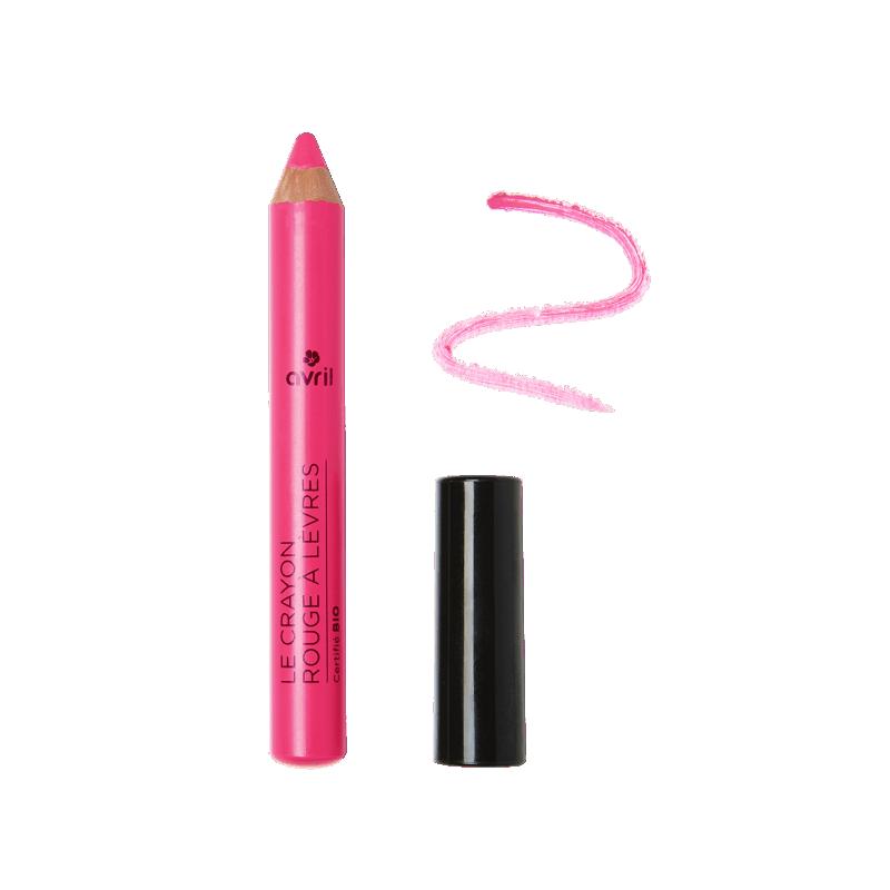 AVRIL - Crayon Rouge à Lèvres Certifié Bio - Rose Bonbon