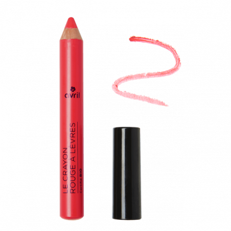 AVRIL - Crayon Rouge à Lèvres Certifié Bio - Rose Charme