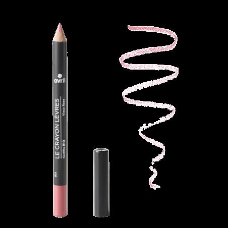 Avril - Crayon Contour Des Lèvres Certifié Bio - Vieux Rose