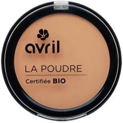 Avril - Poudre Compacte Certifiée Bio - Dorée