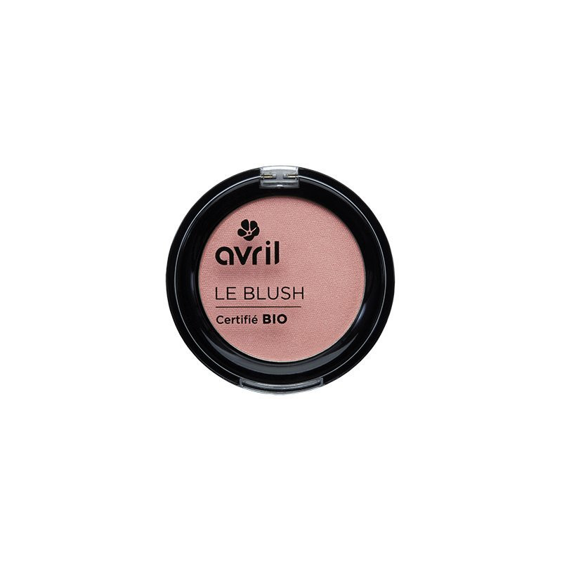 AVRIL - Blush Certifié Bio - Rose Éclat
