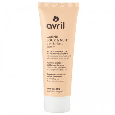 AVRIL - Crème Jour et Nuit Certifié Bio - 50 ml