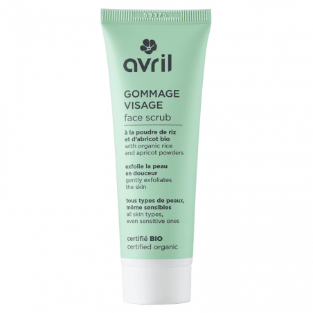 AVRIL - Gommage Visage Certifié Bio - 50ml