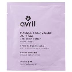 Avril - Masque en Tissu Visage - Anti-âge
