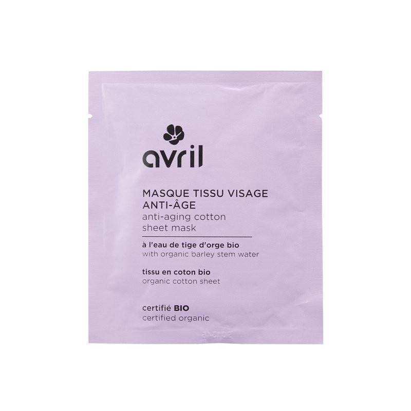 AVRIL - Masque en Tissu Visage Anti-âge