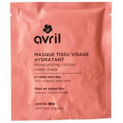 AVRIL - Masque Tissu Visage Certifié Bio - Hydratant